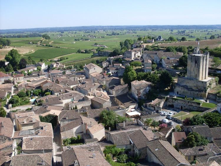 Belle vue de Saint-Emilion