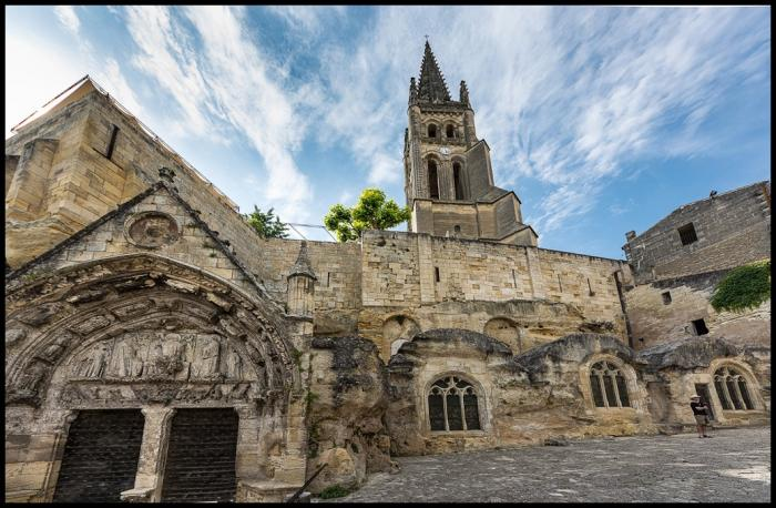 visiter Saint Emilion : l'Eglise monolithe