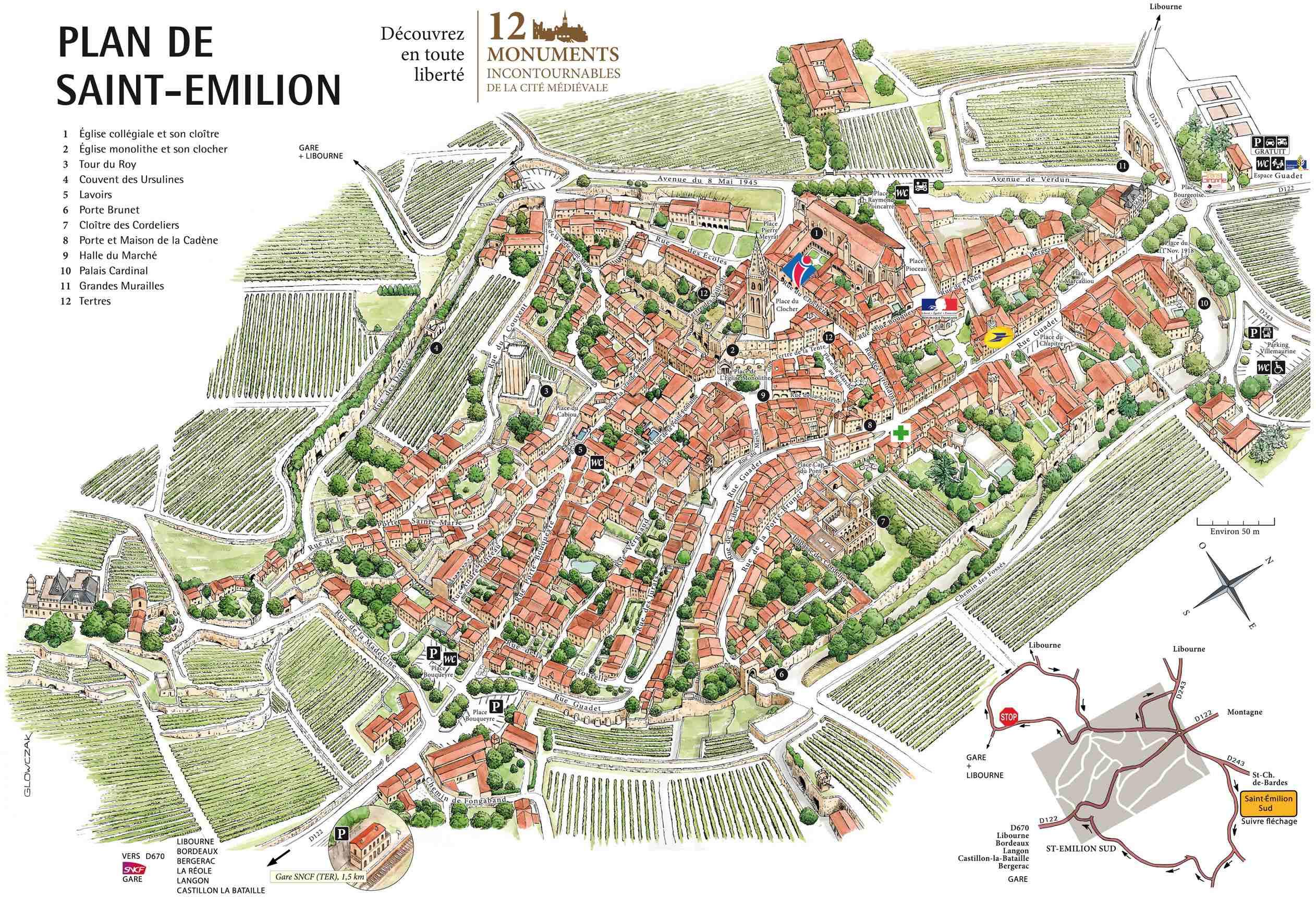Visit saint emilion the jewel of bordeaux bordeaux elite - Office du tourisme st emilion ...